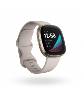 Fitbit Sense (NFC), Health and Fitness Smartwatch with Heart Rate,  EDA Scan app, ECG app