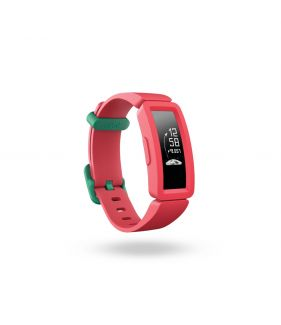 Fitbit Ace 2, Kids Activity Tracker-Watermelon + Teal