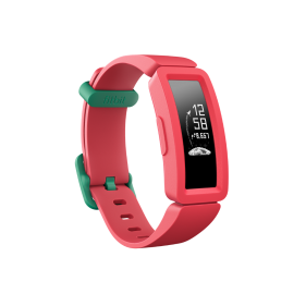 Fitbit Ace 2, Kids' Activity Tracker-Watermelon + Teal