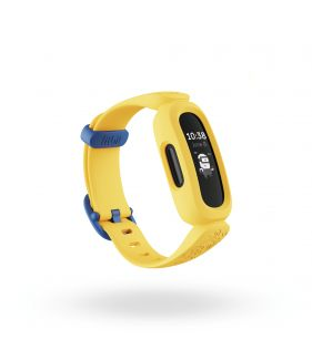 Fitbit Ace 3, Kids Activity Tracker-Black/ Minion Yellow