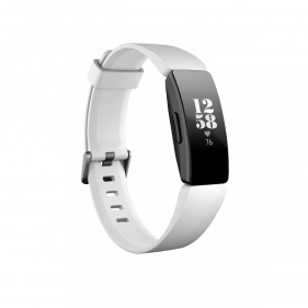 Fitbit Inspire, Health & Fitness Tracker with Heart Rate,Black/White